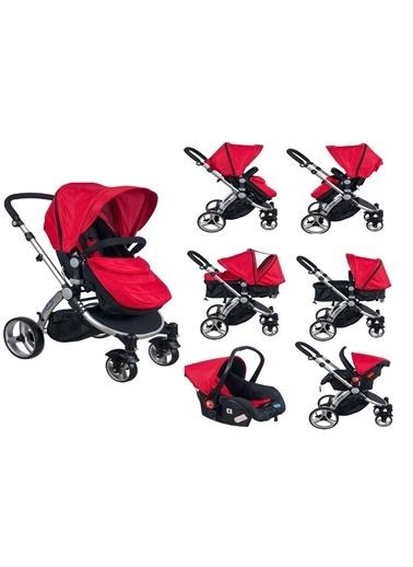 Maller Bebek Arabası Kırmızı